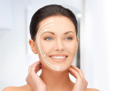 Redessiner l'ovale du visage