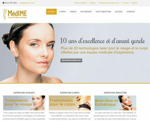 Site Internet MédIME