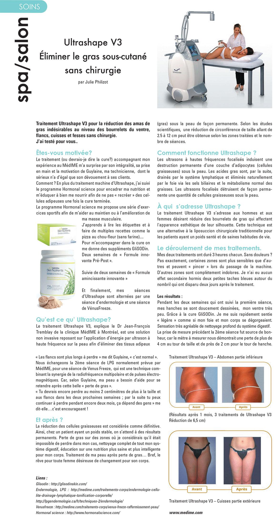 Magazine Nouvelles Esthétiques Spa – Janvier - Février 2015